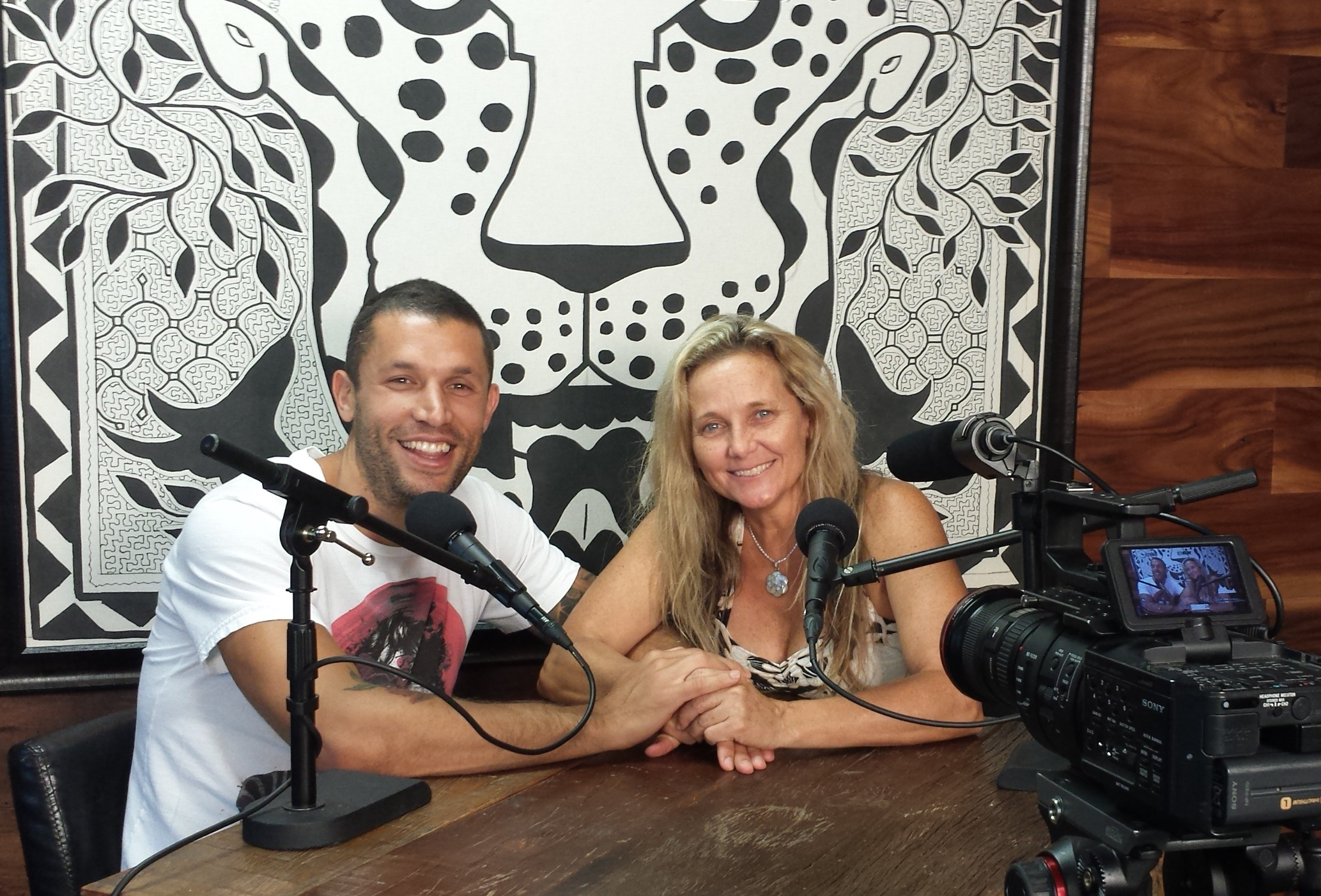 "Podcast: ""Shamangelic Breathwork and Relationships"" with Anahata and Aubrey Marcus"