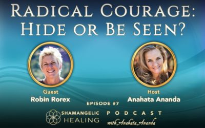 Ep 7 Radical Courage Hide or Be Seen with Robin Rorex